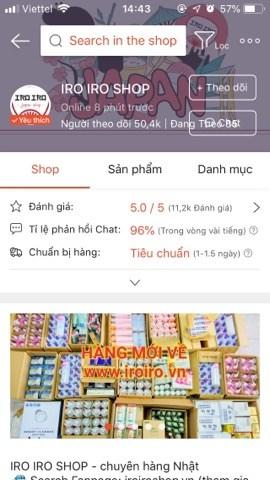Shop mỹ phẩm chất lượng trên shopee