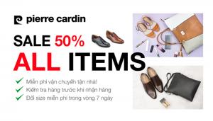 Khuyến mãi giảm giá Pierre Cardin