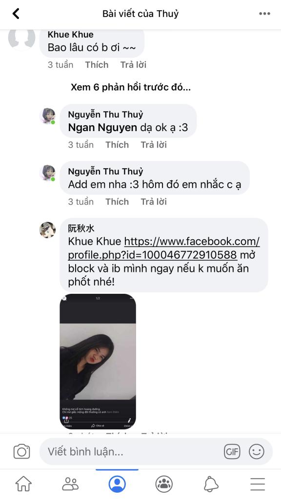 Nguyễn phan khánh ngân - 0928354533 bom hàng