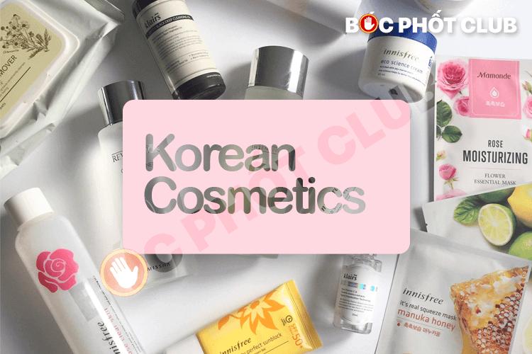 Shop bán mỹ phẩm Hàn Quốc uy tín