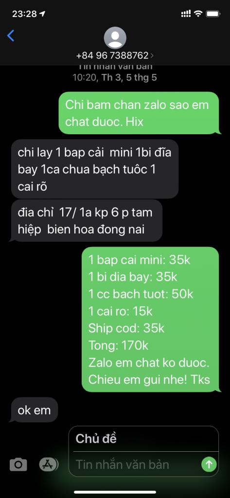 Trịnh Hà Giang - 0967388762 bom hàng