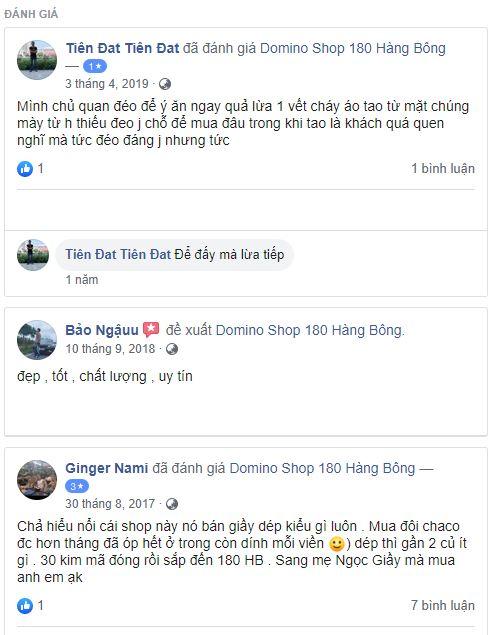Domino Shop bán hàng fake