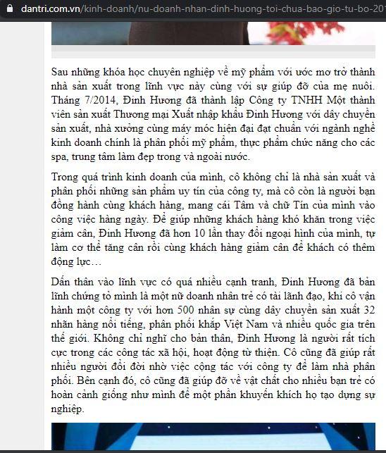Mỹ phẩm Đinh Hương có tốt không