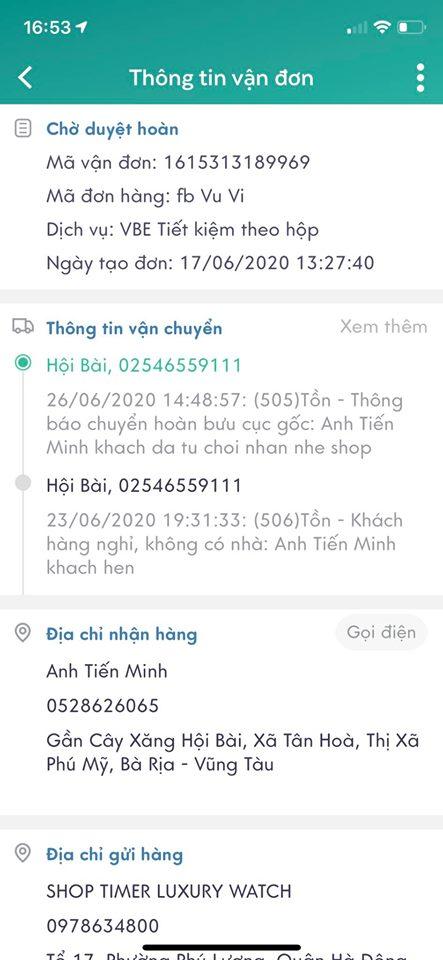 Tiến Minh - 0528626065 bom hàng