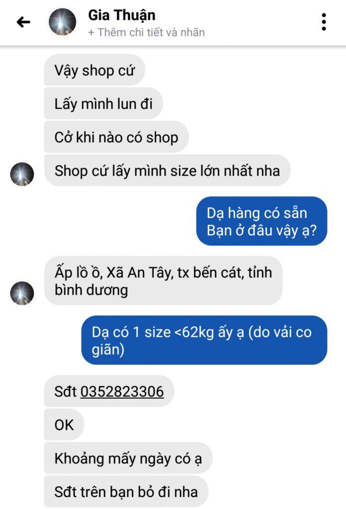 Gia Thuận - 0352823306 bom hàng