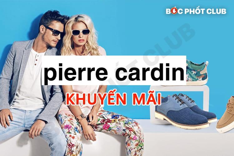 Khuyến mãi Pierre Cardin giảm giá