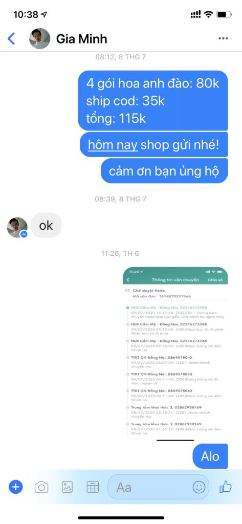 Gia Minh - 0865093435 bom hàng