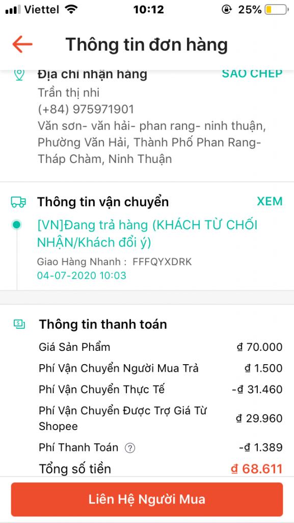 Trần Thị Nhi - 0975971901 bom hàng