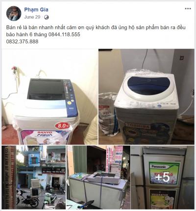Trung Tâm Điện Lạnh Bách Khoa Phạm Gia Thái Bình bán tủ lạnh hỏng