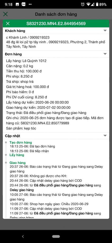 Khánh Linh - 0909219323 bom hàng