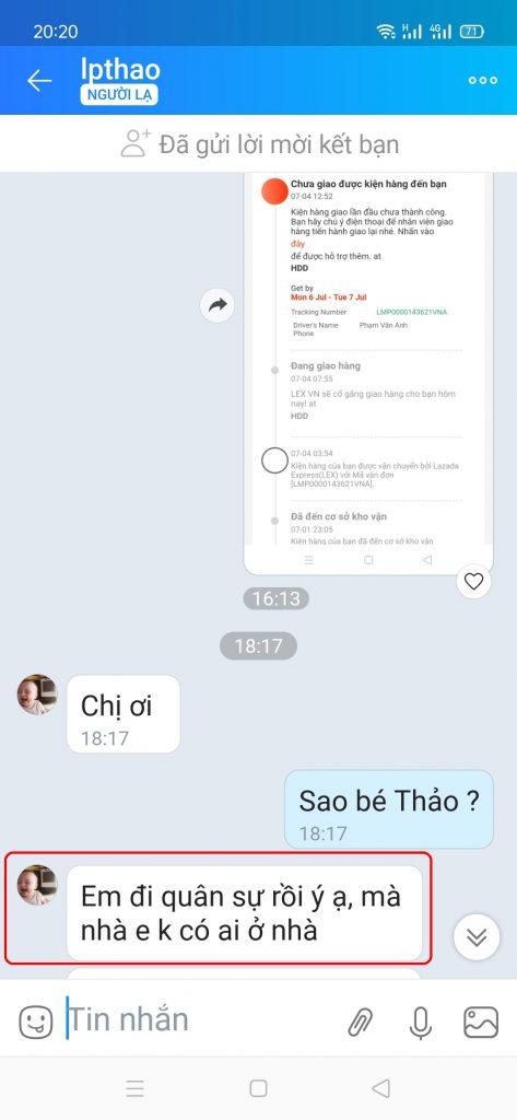 Lê Phương Thảo - 0971655618 bom hàng