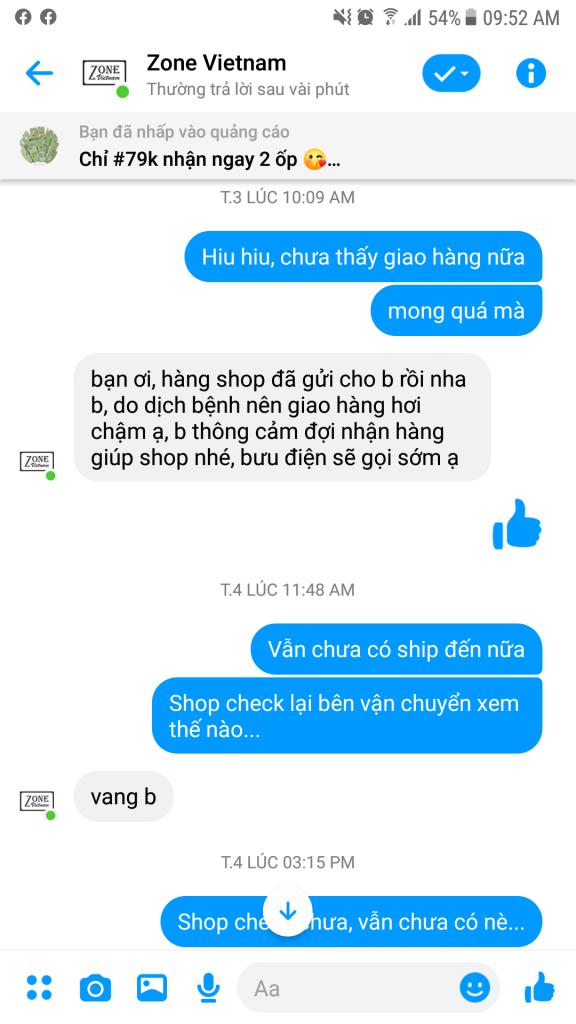 Zone Vietnam giao sai ốp điện thoại, chất lượng kém còn đe dọa khách