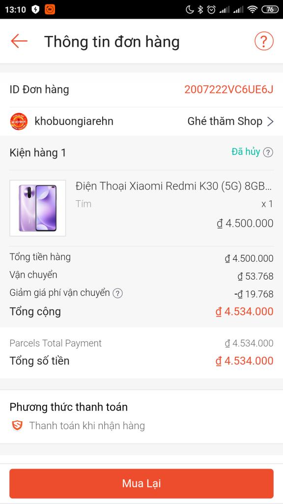 Minh Hương Mobile lừa đảo bán điện thoại