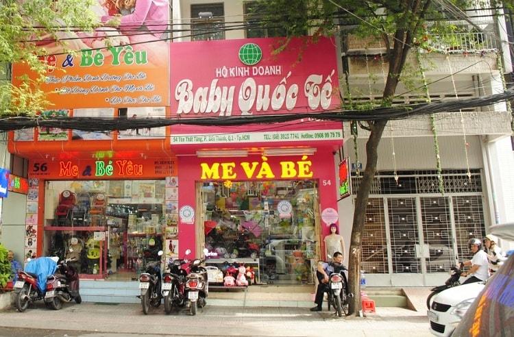 địa chỉ mua đồ mẹ và bé uy tín tại tphcm