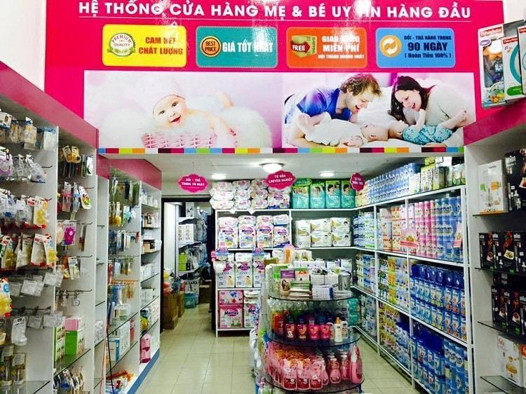 địa chỉ shop mẹ và bé ở tphcm
