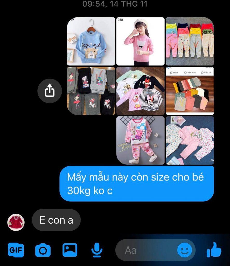 Shop Mẹ Poo thời trang trẻ em Cocalala lừa đảo bán hàng dởm