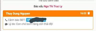 Shop Nguyễn Phương Dung: bán hàng lừa đảo, quỵt tiền, xúc phạm khách