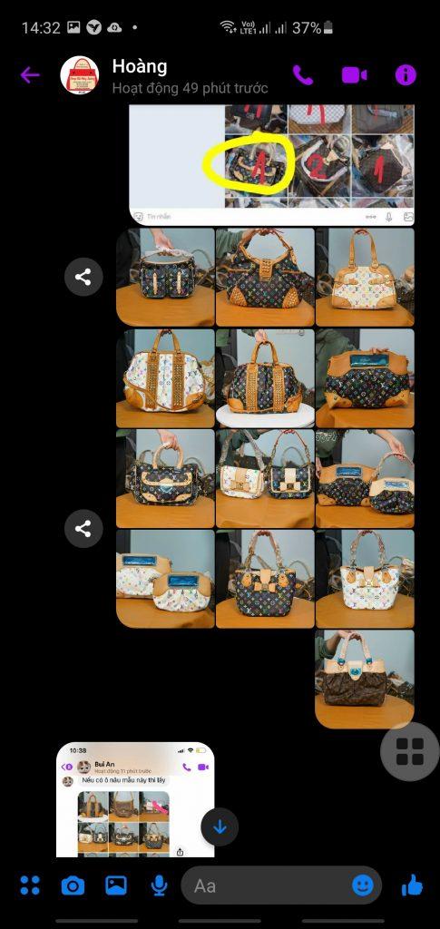 Shop Túi Thủy Hoàng Lừa đảo, giao không đúng hàng, ăn tiền cọc 14 triệu của khách